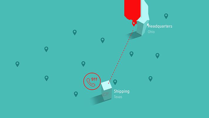 Mis-route