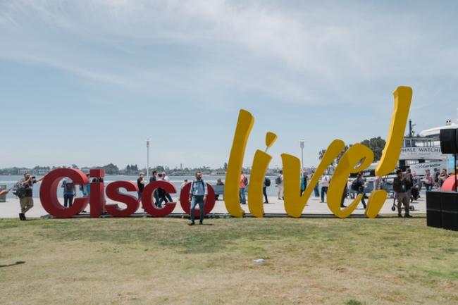 Cisco Live: Day One Done!