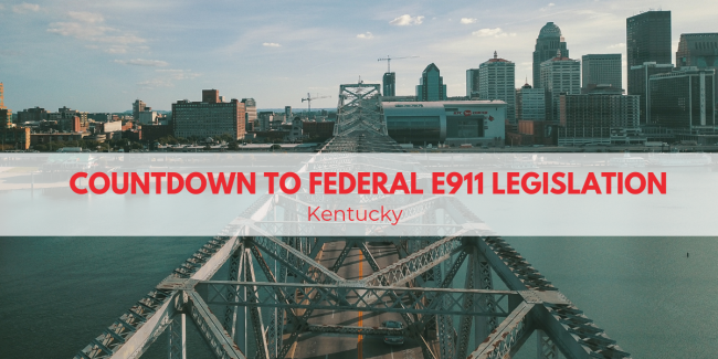 Countdown to Federal Legislation Kentucky