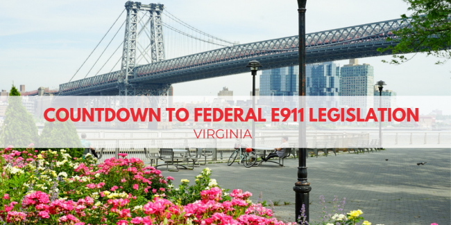 Countdown to Federal Legislation Virginia