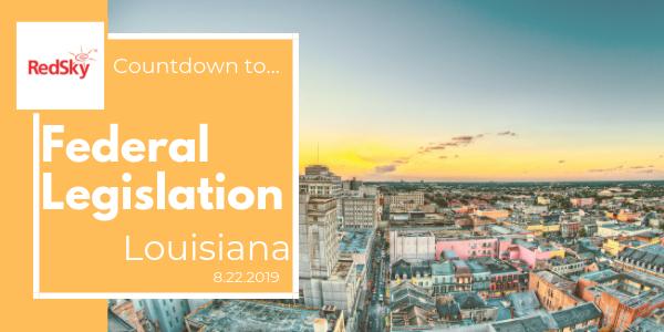 Countdown To Federal E911 Legislation: Louisiana   RedSky